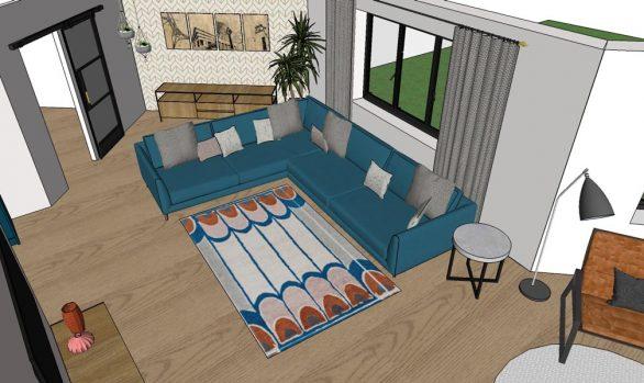 3-D design model