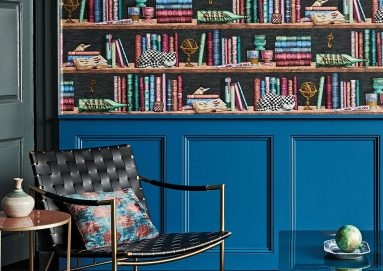 Peaceful and serene study by Fabric and Wallaper producers: Cole & Son